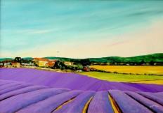 Landscape, Lavender