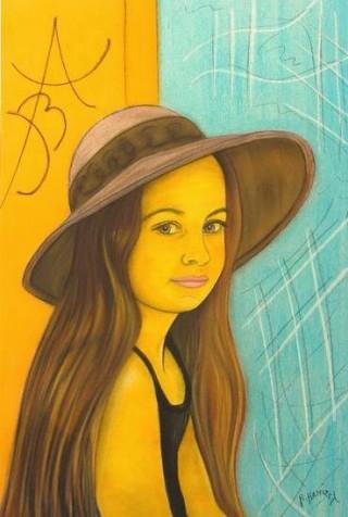 2556 -[:fr]Aurore - Pastel - 61x46cm [:en]Aurore - Pastel - 61x46cm